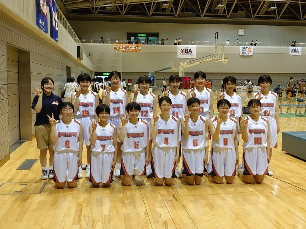 第65回中国高等学校バスケットボール選手権大会結果報告