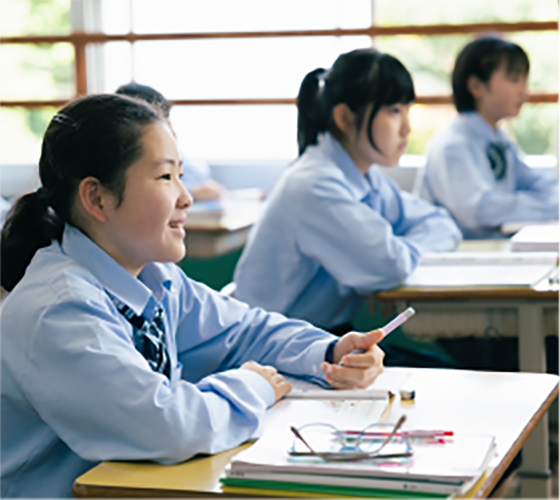 中学校9:05〜12:35(1〜4限)