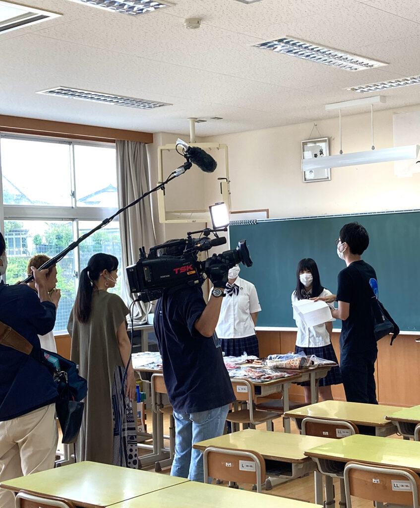 SDGs研究会がテレビ出演