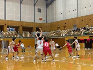 令和3年度 松江市中学校新人競技大会バスケットボール大会