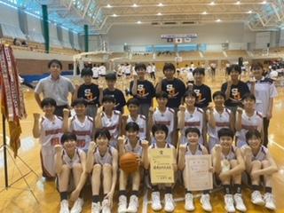 島根県中学校バスケットボール大会結果